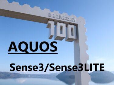AQUOS Sense3/Sense3 LITE 保護ガラスフィルム・フィルム 100均にある?