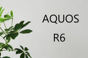 AQUOS R6 フィルム  ケース 100均にある? おすすめは?