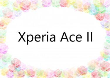 Xperia Ace II フィルム  ケース 100均にある? おすすめは?