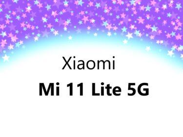 Xiaomi Mi 11 Lite 5G フィルムやケース 100均にある? おすすめは?